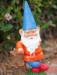 Garden Gnome Hipster - Blue Hat