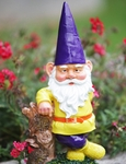 Garden Gnome Hipster - Purple Hat