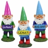 Garden Gnomes w/Attitudes (Set of 3)