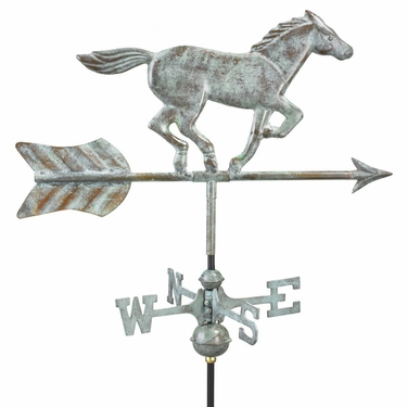 Garden Horse Weathervane - Click to enlarge