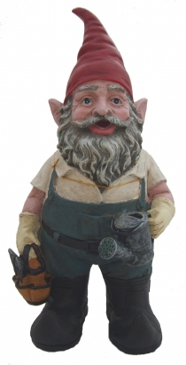 Gardening Lawn Gnome - Click to enlarge