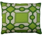 Geo Design 1 Outdoor Pillow