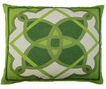 Geo Design 2 Outdoor Pillow