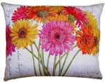 Gerbera Bouquet 1 Outdoor Pillow