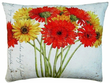 Gerbera Bouquet 2 Outdoor Pillow - Click to enlarge