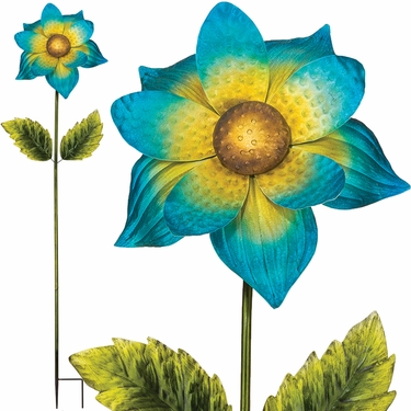 Giant Flower Stake - Blue - Click to enlarge