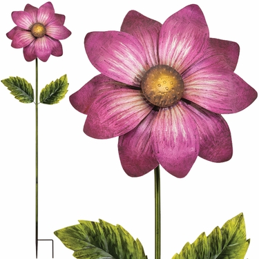 Giant Flower Stake - Magenta - Click to enlarge