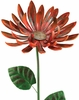 Giant Rustic Red Mum Stake