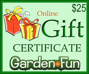 Gift Certificate $25 - Click to enlarge