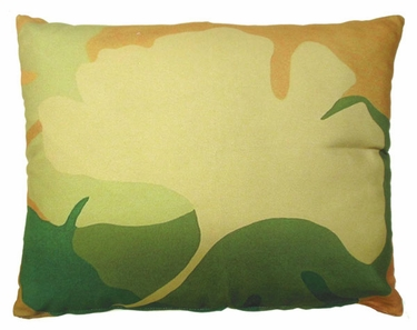 Ginko Leaf Outdoor Pillow - Click to enlarge