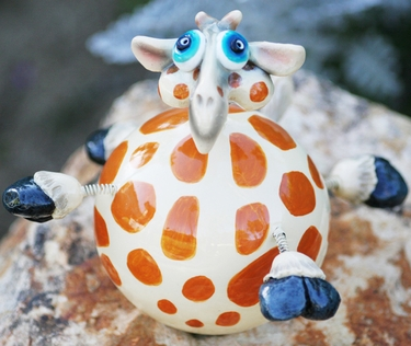 Giraffe Wobbler - Click to enlarge