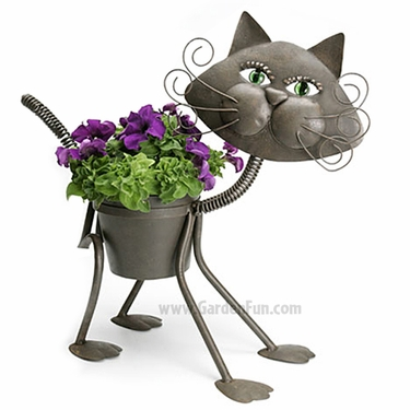 Glamour Cat Planter - Click to enlarge