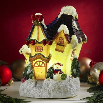 Glow Anywhere LED Christmas House - Click to enlarge