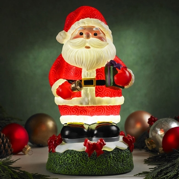 Glow Anywhere LED Santa Claus - Click to enlarge