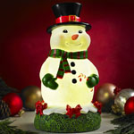 Glow Anywhere LED Snowman Statue