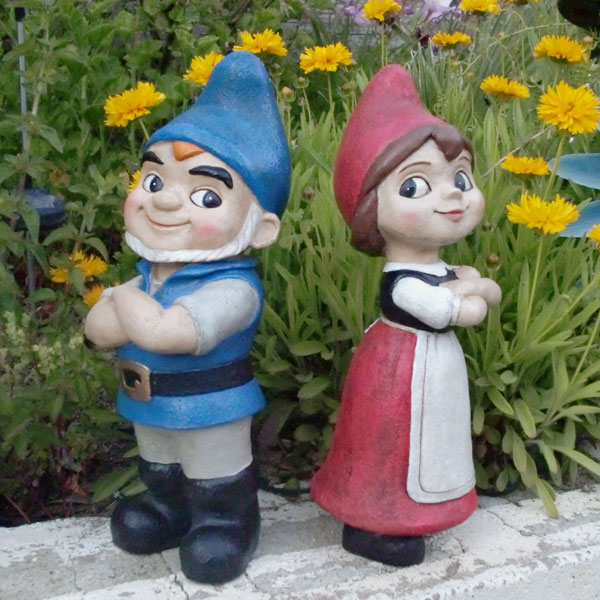 Gnomeo Juliet Gnome Statues Set of 2 only 4999 at Garden Fun