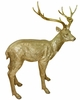 Gold Deer Statue - Large