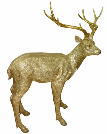 Gold Deer Statue - Large - Click to enlarge