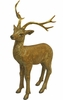 Gold Deer Statue - Medium