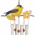 Goldfinch Wind Chime