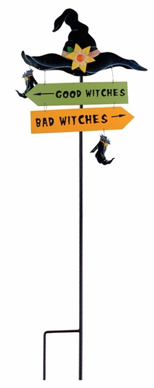 Good Witches Bad Witches Stake - Click to enlarge