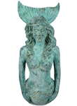Gorgeous Mermaid 2-Piece Wall Decor - Shipwreck Finish