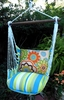 Graphic Florals Hammock Chair Swing Set