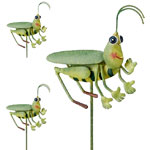 Grasshopper Garden Stakes (Set of 6)