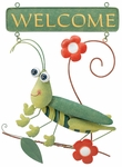 Grasshopper Welcome Sign