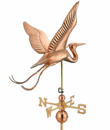 Great Blue Heron Weathervane - Click to enlarge