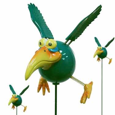 Green Dodo Birds (Set of 6) - Click to enlarge