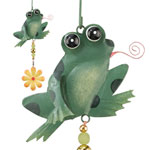 Green Frog Twirly