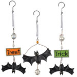 Halloween Bats Bouncies (Set of 3)