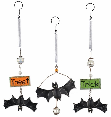 Halloween Bats Bouncies (Set of 3) - Click to enlarge
