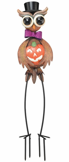 Halloween Owl Garden Decor - Click to enlarge