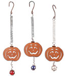 Halloween Pumpkin Bouncies (Set of 3)