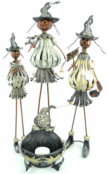 Halloween Pumpkin Creatures (Set of 4) - Click to enlarge