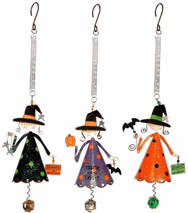 Halloween Witch Bouncies (Set of 3) - Click to enlarge