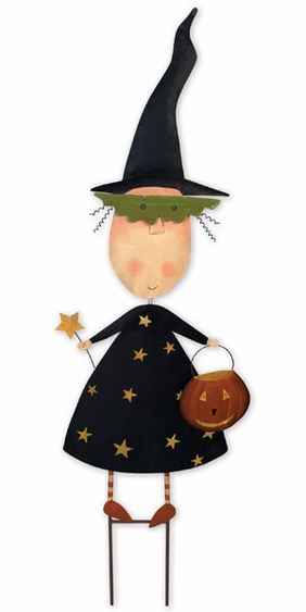 Halloween Witch Fairy Stake - Click to enlarge
