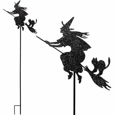 Halloween Witch Stake / Sign - Click to enlarge