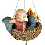 Hanging Gnome Wind Chime