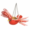 Hanging Red Cardinal Bird Feeder/Planter