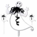 Happy Ghost Pumpkin Decoration (Set of 3)