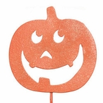 Happy Pumpkin Stake / Sign (Set of 3)