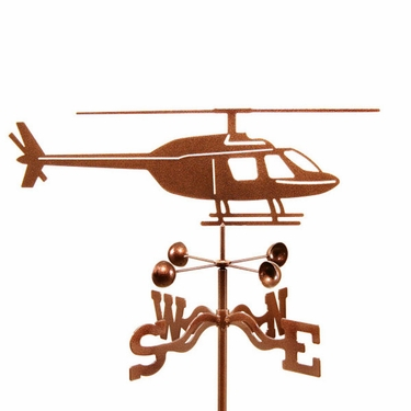 Helicopter Weathervane - Click to enlarge