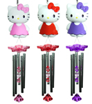 Hello Kitty Wind Chimes (Set of 3)