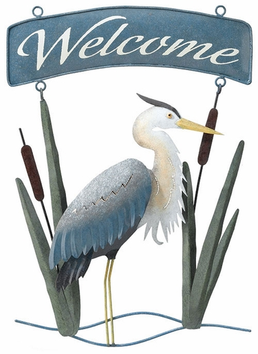 Heron Welcome Sign - Click to enlarge