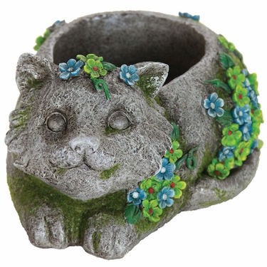 Flower Kitten Planter - Click to enlarge