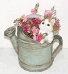 Hidden Kitten Planter - Click to enlarge