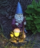Hiking Solar Gnome Statue